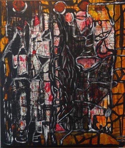 Simone Wolff, Malerei, zur Bildergalerie Maren Fischer Hannover