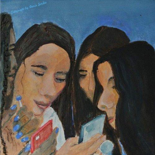 Simone Wolff, Malerei, zur Bildergalerie Doris Scriba Hannover