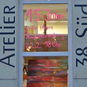 Neujahrsempfang und Jubiläum: 15 Jahre Atelier 38 Süd!  2019